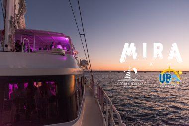 Mira met les voiles sur le Bassin d'Arcachon pour une soirée unique